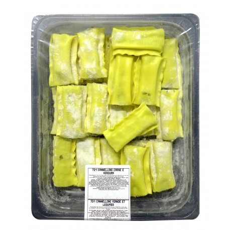 Cannellonis frais Viande & Légumes
