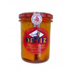 Filets de thon blanc Germon à l'huile d'olive et piment d'Espelette
